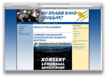 MV Brass Band Henggart bei Winterthur